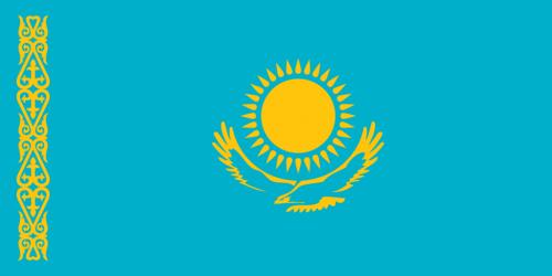 Bandiera Kazakhstan