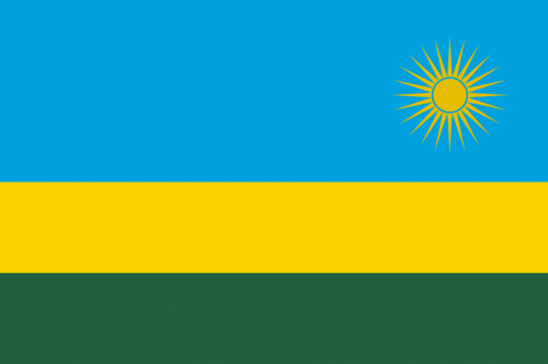 Bandiera Rwanda