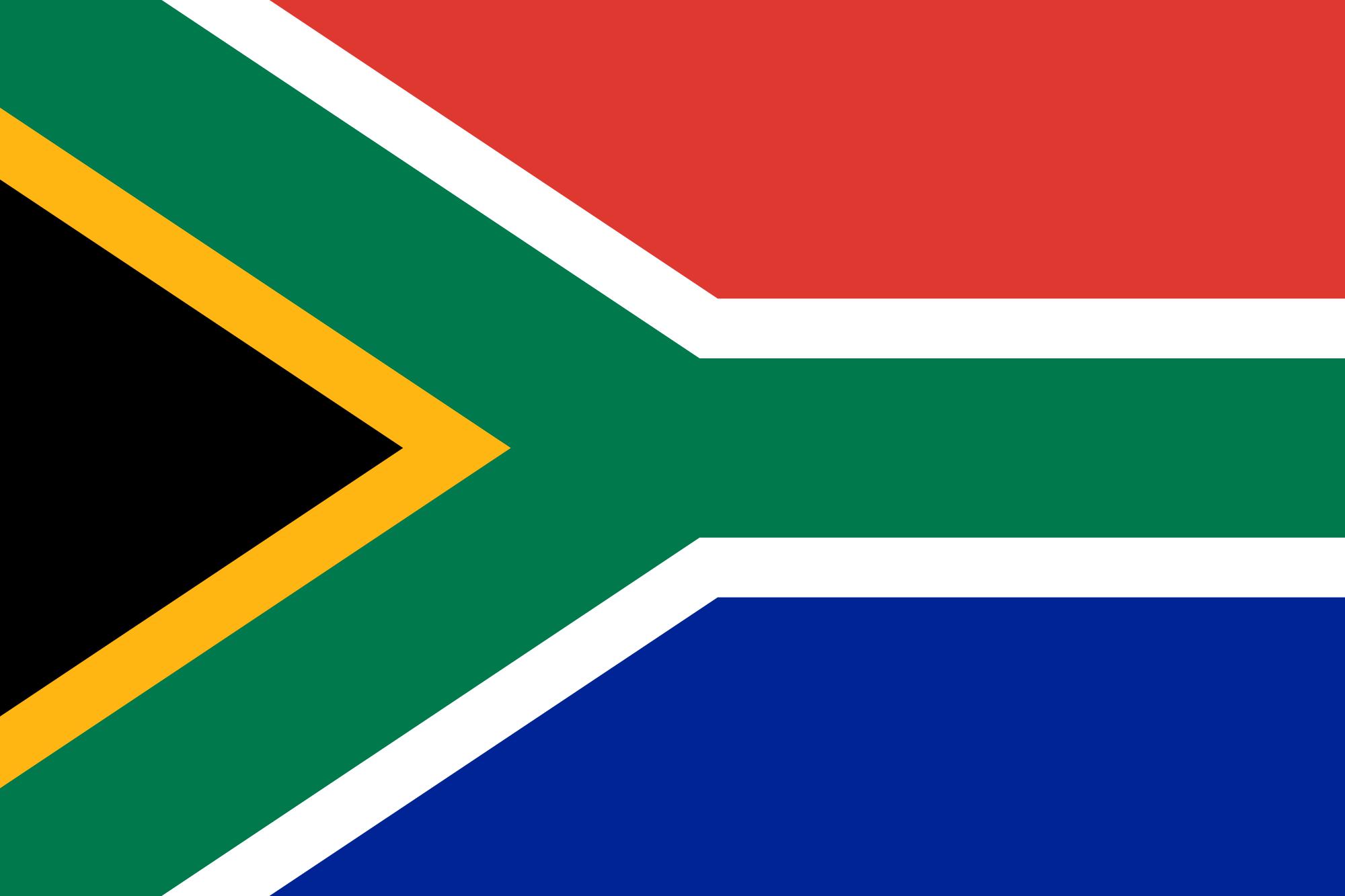 Bandiera sud africa resolfin vendita bandiere for Tavolo esterno 70x100