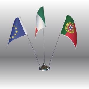 Resolfin vendita e produzione bandiere e accessori - Porta bandiere da tavolo ...