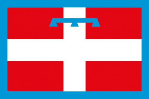 bandiera regione piemonte