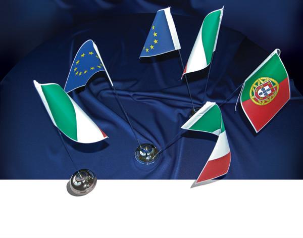 Completi da tavolo a 6 posti resolfin vendita bandiere - Porta bandiere da tavolo ...