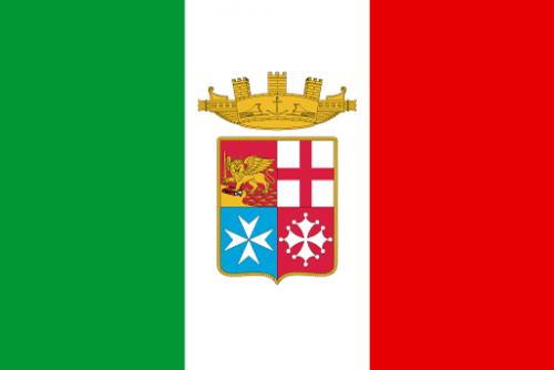 Bandiera Italia Marina Militare