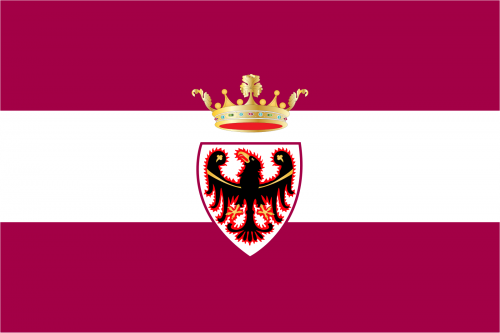 Bandiera Provincia Autonoma di Trento
