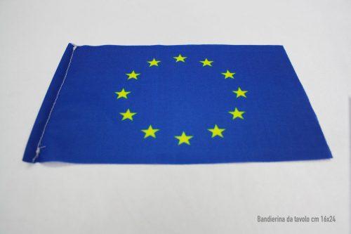 bandierina-da-tavolo-unione-europea -16x24