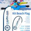 beach flag promotion for ski schools