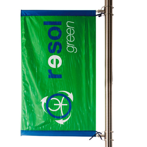 banner da pennone pole banner kit